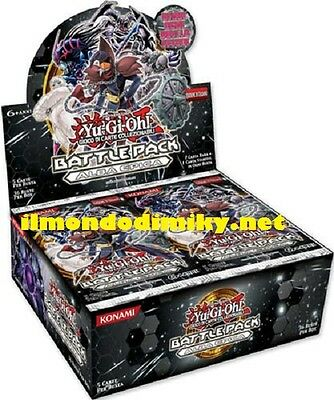 Yu-Gi-Oh! BATTLE PACK ALBA EPICA box da 36 buste sigillato in italiano