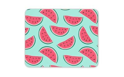 Funky Watermelon Print Mouse Mat Pad - Melon Fruit Summer Gift Computer #13203