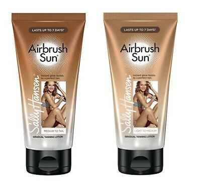 Sally Hansen Airbrush Sun Selbstbräuner Light Medium Tan 01 02 175 Ml