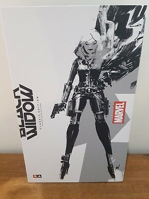 ThreeA Ashley Wood BLACK WIDOW Sixth Scale figure Marvel Comics 3A