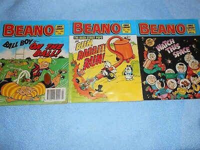 Vintage UK Comics - THE BEANO LIBRARY Collection