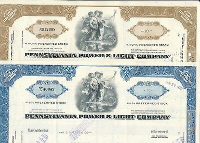 Lot: 2 Pennsylvania Power & Light Company US Stromversorger,Atomkraft,Energie
