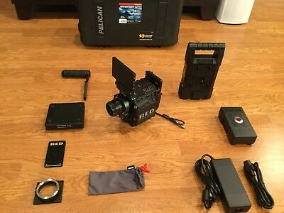 Red Epic Dragon X 6K Camera W/total Kit, Lcd,redbrick,128Gb,outrigger + Olpf