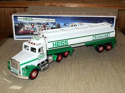 Hess 1990 Toy Tanker Truck with Horn, Back-Up Alert, Head and Tail Lights