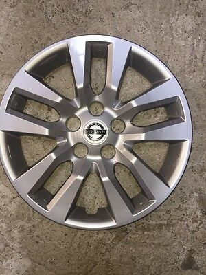 "1 53088 New Nissan Altima Hubcap Wheel Cover 16"" Inch 2013 14 15 16"