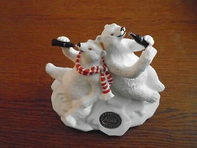 Coca-Cola Polar Bear and Friend Heritage Collection Collectible