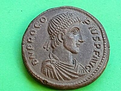 17. Procopius (usurper), Extremely Rare Coin, Medaillon - 25,59g; 34mm
