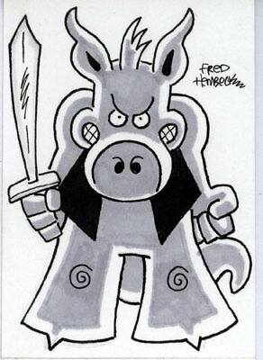 Fred Hembeck Sketch Card: Cerebus the Aardvark 1/1