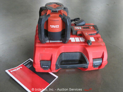 Hilti PR 30-HVS Rotating Laser Level Kit w/PRA 30 Remote Control Case bidadoo