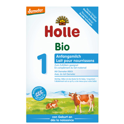 Holle Bio Stage 1 Organic Infant Formula 6 Box Bulk