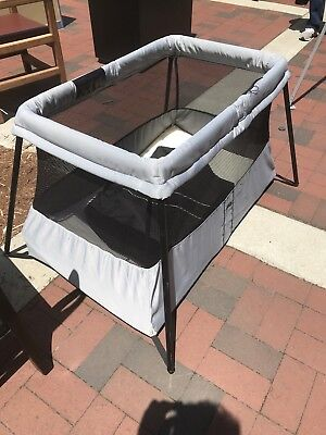 Baby Bjorn Travel Crib Light with mattress and carrying case
