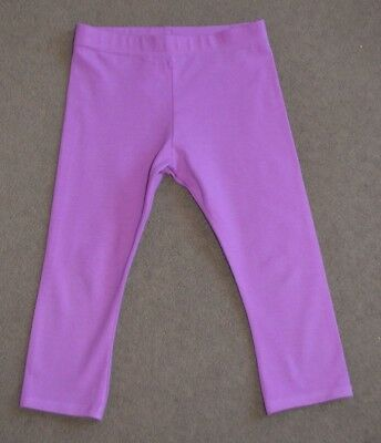 Next Girls Purple/Violet Cropped Leggings size 4-5 years