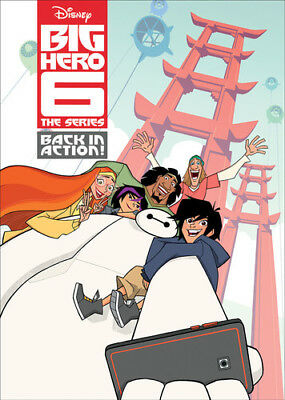 Big Hero 6 The Series: Back In Action (2018, DVD NUOVO) (REGIONE 1)