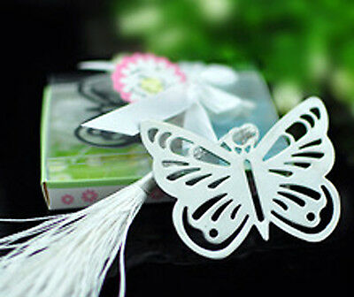 BUTTERFLY BOOKMARK Metal Book Mark Page Valentines Birthday Party Easter Gift