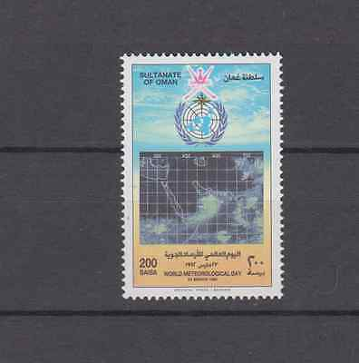Oman 1992 Meteorological Day Complete Set Mint Never Hinged
