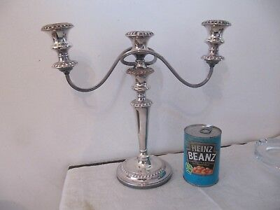 Silver Plated Candelabra Candlestick