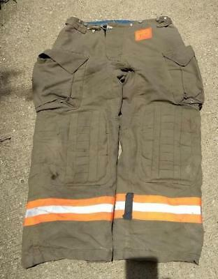 Morning Pride Firemans Turnout  Bunker Pants Gear 38/30 Globe Fire Dex Securitex