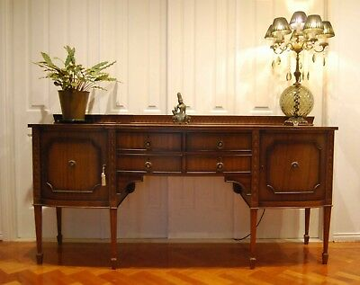 Antique/ Vintage/buffet/ Sideboard/ Hall Table/ Side Table/tv Stand