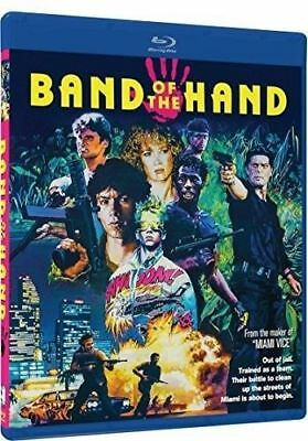 BAND OF THE HAND -  BLU RAY  - Sealed Region free