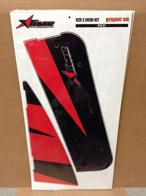 AMR Graphic Kit Decal SALE - AMR RZR 2 Door - Red