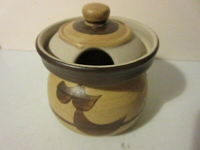 Vintage  Moville Pottery Ireland. moville Storage Jar Pot