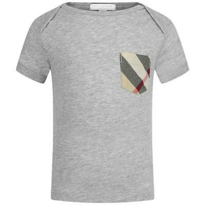 Burberry Baby Boy Checked Pocket T-Shirt