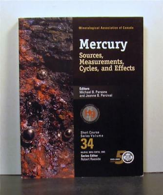 Mercury, Sources, Measurements, Cycles and Effects