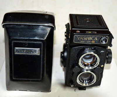 Yashica Mat Yashica-Mat 124G with Case with 6 Month Warranty