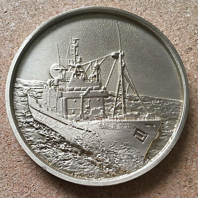 Collectable  Medallion,Coin, Sea Shepherd, Made from the Steve Irwin prop