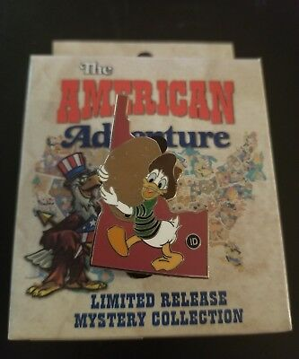 Disney Parks LR Trading Pin American Adventure EPCOT MYSTERY ID IDAHO COLOR