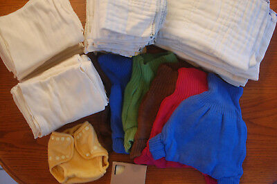 Organic Disana Wool & Cotton Diaper Super Set ~ 2 FREE Items ~ This Has It All!