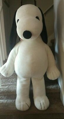 Rare Large Giant Vintage Five Ft (5') Tall Plush Snoopy