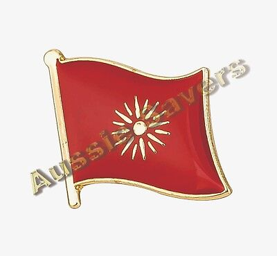 Macedonia Old Style Flag Hat Pin / Badge - Brand New