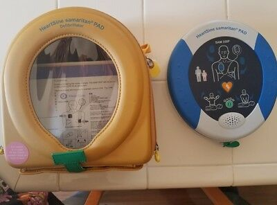 Heartsine Samaritan 350P AED with Carrying Case and Adult Pad-Pak80514-000263NEW