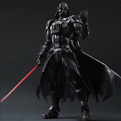 Star Wars Darth Vader Black Knight Action Figure Statue Prototype Model Toys
