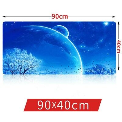 Large Mouse Pad Mat Gaming Anti Slip Colorful Computer Office Table Mat 90x40cm