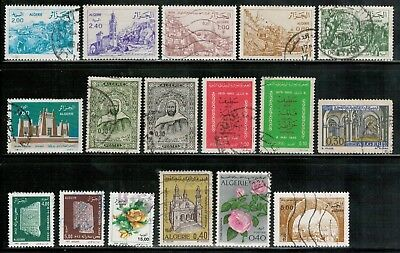 Lot 4957 - Algeria - Used selection of 17 stamps from varioua years