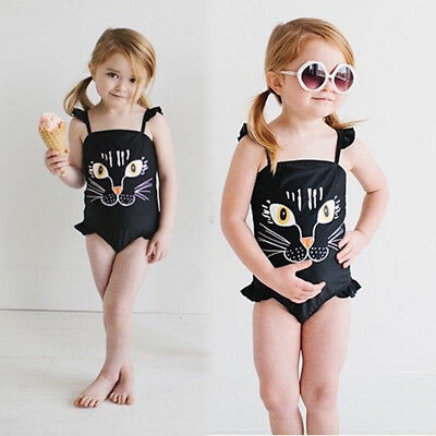 AU Toddler Kids Baby Girls Boys Swimwear Swimsuit Bathing Suit Swimming Clothing