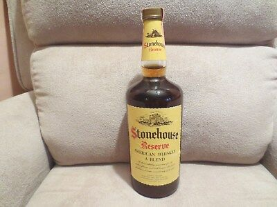 1970s Stonehouse Reserve American Blend Whiskey..