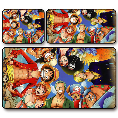 Anime One Piece Luffy Logo Game Mouse Pad Profession PC Large Mats Muti size 052