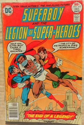 Superboy and the LOSH 222, New Adventures Of Superboy 2, 6, 9, 21 avg VG+