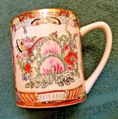 Nice Chinese hand-painted porcelain cup for decoration.