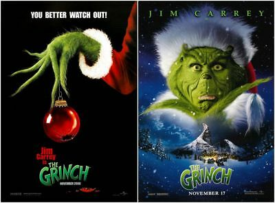 How The Grinch Stole Christmas Movie Poster.Dr Seuss How The Grinch Stole Christmas Movie 2000 Poster 13x20 24x36 27x40