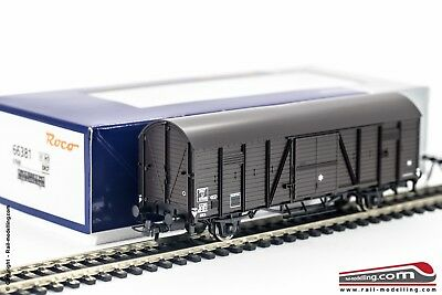ROCO 66381 - H0 1:87 - Tow truck goods closed SNCF IJ 87848 Ep. III