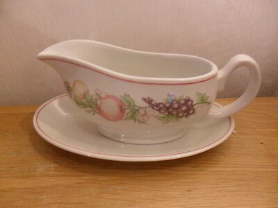 Boots Orchard Gravy Boat And Stand - Style 2