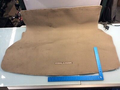 09 10 11 12 13 Toyota Highlander Rear Trunk Floor Carpet Cargo Liner Mat Oem V