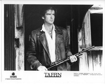 TAFFIN / PIERCE BROSNAN / 10x8 PRESS PHOTO ORIGINAL