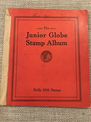 Vintage The Junior Globe Stamp album