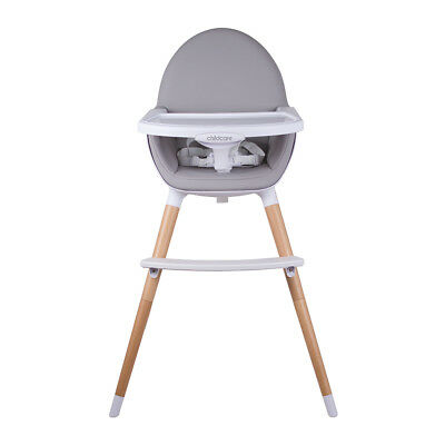 Childcare POD TIMBER HIGH CHAIR – NATURAL