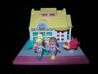 EUC 100% Complete Vintage Polly Pocket Toy Shop 1993